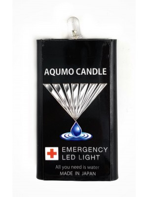 Water Activated Emergence Light (no battery needed), Torch, Aqumo Water Candle, 3pcs