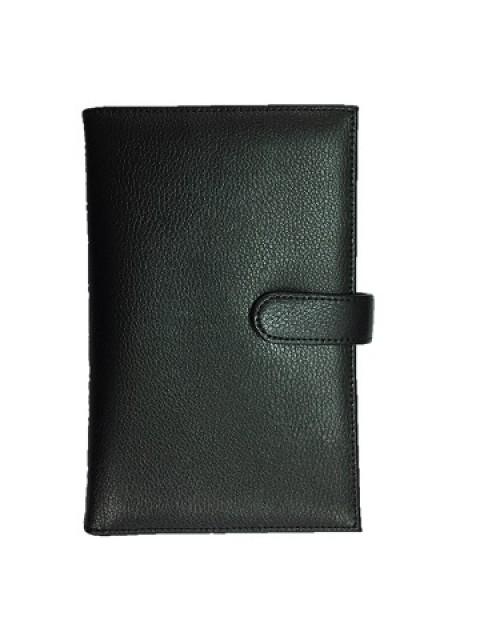 Genuine Leather Passport Wallet - block illegal passport scan
