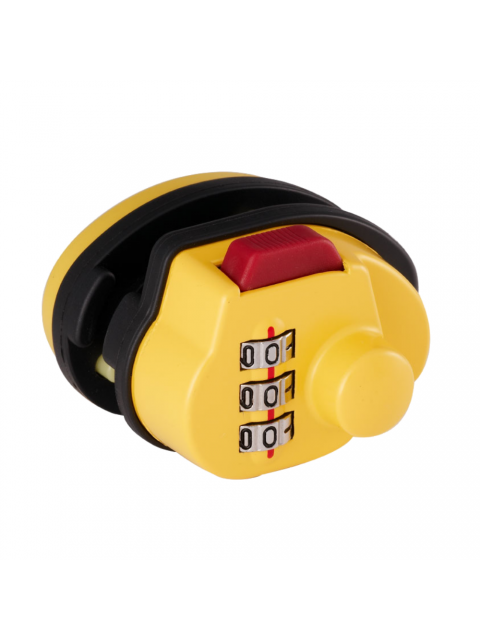 Bosvision 3-digit combination trigger gun padlock for pistols, rifles and shotguns…