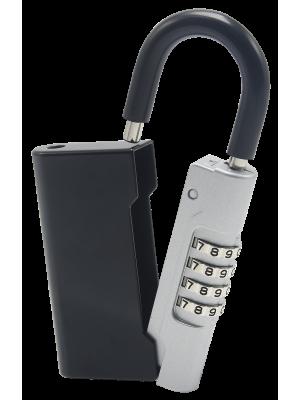 Key-Guard combination padlock for key storage lockbox / key safe