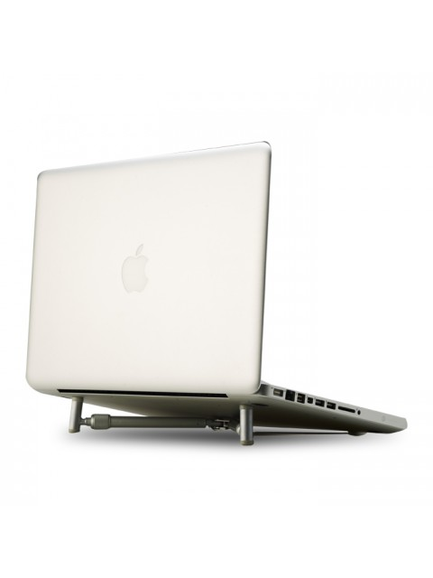 """Ergonomic Aluminium Portable Foldable Cooling X-Stand for 12""""-17"""" Laptops, Notebook PC and MacBook"""
