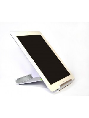 "Tablet Mate Aluminium desktop stand for iPad, 7""-10"" Tablet PC and eBook Reader - WHITE"