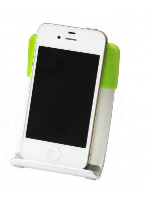 Smart Stand Aluminium foldable stand for iPhone,  Smart Phone and Mobile Phone - GREEN