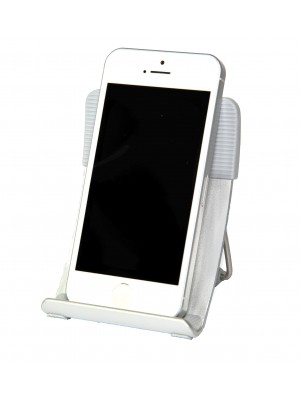 Smart Stand Aluminium foldable stand for iPhone,  Smart Phone and Mobile Phone - GRAY