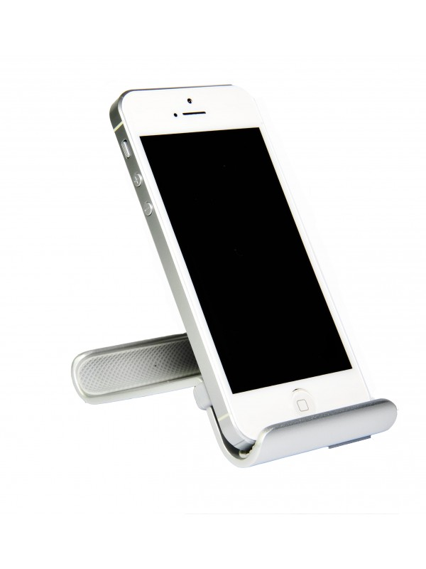 Smart Stand Aluminium Desktop For Iphone Phone And Mobile Gray