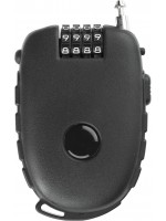 Ultra-Secure 4-digit Combination Padlock with 90cm Retractable Cable