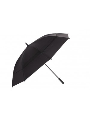 "172cm (68"") Automatic Double Canopy Windproof Golf Umbrella with inner net"